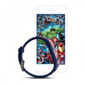 Išmanusis laikrodis Garmin Vivofit jr. 2 Marvel (Captain America)