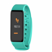 MyKronoz Smartwatch  Zefit 3HR 100 mAh, Touchscreen, Bluetooth, Heart rate monitor, Waterproof, Smartwatch, Turquoise/Black, Turquoise/Black, Built-in pedometer  57,00