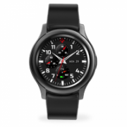 MyKronoz Smartwatch Zeround 3  Black/ black, 350 mAh, Touchscreen, Bluetooth, Heart rate monitor, Waterproof, IP67 m  102,00