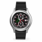 MyKronoz Smartwatch Zeround 3  Silver/ black, 350 mAh, Touchscreen, Bluetooth, Heart rate monitor, Waterproof, IP67 m  102,00