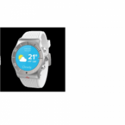 MyKronoz Smartwatch ZESPORT Touchscreen, Bluetooth, Heart rate monitor, Waterproof, Silver/white, GPS (satellite)  132,00