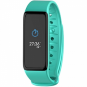 MyKronoz Smartwatche KRZEFIT3 Turquoise/Black, Waterproof, Touchscreen, Bluetooth, Turquoise/Black, 80 mAh, Activity Tracker  32,00