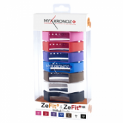 MyKronoz Wristbands Bracelets - 7 Colors Pack  KRZF3PACK7-CLASSIC Black, Blue, Pink, Red, Violet, Brown, White  30,00