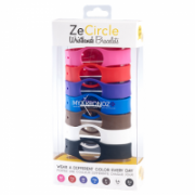 MyKronoz Wristbands  Zecircle Pack7 Classic Pink, red, purple, blue, brown, white, black  30,00