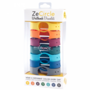 MyKronoz Wristbands  Zecircle Pack7 Colorama Yellow, orange, bordo, green, light blue, blue, grey  30,00