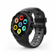 MyKronoz Zesport 2 460 mAh, Smartwatch, Touchscreen, Bluetooth, Heart rate monitor, Black/Grey, GPS (satellite),  145,00