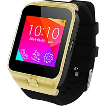 Ninetec Smart watch Smart9 SIM card, Gold, Touch control, Touchscreen, Bluetooth, Warranty 12 year(s)