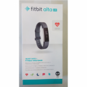 SALE OUT. Fitbit Alta HR Fitness Trackers, Small, HR, Blue Gray Fitbit Alta HR Small FB408SGYS-EU Steps and distance monitoring, DAMAGED PACKAGIG, OLED, Blue gray, Touchscreen, Bluetooth, Yes, Heart rate monitor,  66,00