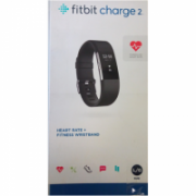 SALE OUT. Fitbit Charge 2 Fitness Trackers, Large, Black Silver Fitbit Charge 2 Black-Silver Large FB407SBKL-EU Steps and distance monitoring, DAMAGED PACKAGING, OLED, Black, Heart rate + activity wristband, Bluetooth, Yes, Heart rate monitor, GPS (satell  79,00