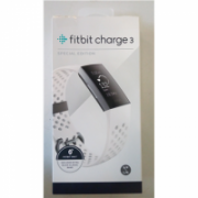 SALE OUT. Fitbit Charge 3 Graphite White Fitbit Steps and distance monitoring, DEMO,DAMAGED PACKAGING, Touchscreen; Grayscale OLED, Graphite White, Bluetooth, Heart rate monitor, Waterproof  140,00