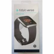 SALE OUT. Fitbit Versa Lite Smart watch, LCD, Touchscreen, Heart rate monitor, Activity monitoring 24/7, Waterproof, Bluetooth, Silver Gray - DAMAGED SEAL  150,00