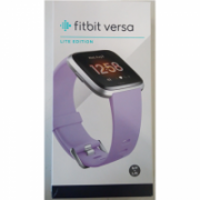 SALE OUT. Fitbit Versa Lite Smartwatch S/L, Lilac/Silver Aluminum Fitbit Versa Lite Fitness Tracker FB415SRLV DEMO, Warranty 23 month(s), Touchscreen, Bluetooth, Built-in pedometer, Heart rate monitor, Waterproof, LCD, Lilac/Silver Aluminum  153,00