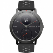 Withings Steel HR Sport (40mm) OLED, 39 g, Black, Bluetooth, Built-in pedometer, Heart rate monitor, GPS (satellite), Waterproof  209,00