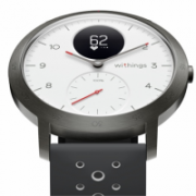 Withings Steel HR Sport (40mm) OLED, 39 g, White, Bluetooth, Built-in pedometer, Heart rate monitor, GPS (satellite), Waterproof  209,00