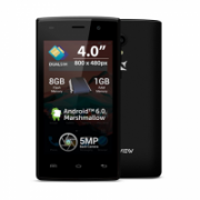 "Allview A5 Ready Black, 4 "", TFT LCD, 480 x 800, Cortex-A7, Internal RAM 1 GB, 8 GB, Dual SIM, Micro SIM, 3G, Main camera 5 MP, Secondary camera 0.3 MP, Android, 5.1, 1400 mAh  39,00"