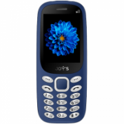 "Joys S8 DS (Blue) Dual mini SIM 2.4"" TFT 240x320/ SC6531E/ 32Mb/ ROM 32Mb/FM,BT, 2G  Joy's  16,90"