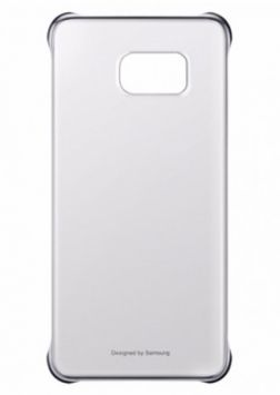 Clear cover for Galaxy S6 Edge + G928 (Silver)