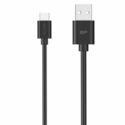 Silicon Power USB A to Micro USB-B cable LK10AB Black  5,00