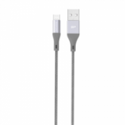 Silicon Power USB A to Micro USB cable LK30AB Gray  6,00