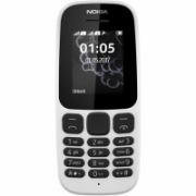 "Nokia 105 (2017) White, 1.4 "", TFT, 120 x 160 pixels, 4 MB, 4 MB, Dual SIM, Mini-SIM, USB version microUSB 2.0, Main camera No camera MP, 800 mAh  21,00"