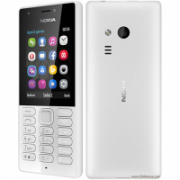 "Nokia 216 Grey, 2.4 "", TFT, 240 x 320 pixels, 16 MB, Dual SIM, Mini-SIM, Bluetooth, 3.0, USB version microUSB 1.1, Built-in camera, Main camera 0.3 MP, Secondary camera 0.3 MP, 1020 mAh  38,00"