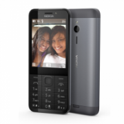 "Nokia 230 Dark Silver, 2.8 "", TFT, 240 x 320 pixels, 16 MB, Dual SIM, Mini-SIM, Bluetooth, 3.0, USB version microUSB 1.1, Built-in camera, Main camera 2 MP, Secondary camera 2 MP, 1200 mAh  59,90"