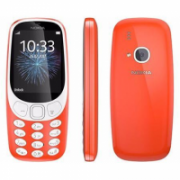 "Nokia 3310 (2017) Red, 2.4 "", TFT, 240 x 320 pixels, 16 MB, Dual SIM, Micro-SIM, Bluetooth, 3.0, USB version microUSB 2.0, Built-in camera, Main camera 2 MP, 1200 mAh  59,00"