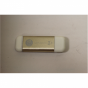 SALE OUT. ADAM IK64-GD Apple Lightning Flash Drive 64GB Gold Adam Warranty 3 month(s), WORKS ONLY AS USB FLASH DRIVE.  29,00