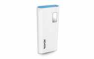 ADATA P12500D Power Bank, 12500mAh, white  22,00