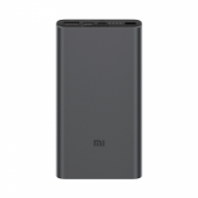 Xiaomi Mi 18W Fast Charge Power Bank 10000 mAh, Black  16,00