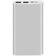 Xiaomi Mi 18W Fast Charge Power Bank 3 10000 mAh, Silver  16,00