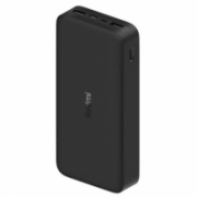 Xiaomi Redmi Fast Charge Power Bank 20000 mAh, Black, 18 W  20,00