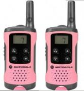 Motorola T41 short-wave radio, 4km, Pink  37,00