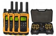 Motorola T80 EXTREME QUAD short-wave radio, 10 km, Black-Yellow  249,00