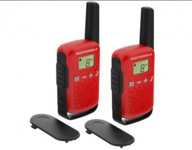 Motorola T42 short-wave radio, 4km, Red