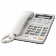 Panasonic Corded KX-TS620FXW White, Caller ID, Built-in display, Speakerphone, 680 g, 167 x 224 x 95 mm, Phonebook capacity 50 entries  62,00