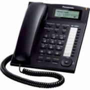Panasonic Corded KX-TS880FXB Built-in display, Speakerphone, 550 g, 172 x 220 x 93 mm, Black, Caller ID, Phonebook capacity 50 entries  49,00