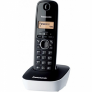 Panasonic Cordless KX-TG1611FXW Black/White, Caller ID, Phonebook capacity 50 entries, Built-in display, Wireless connection,  24,00