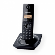 Panasonic Cordless KX-TG1711FXB Black, Caller ID, Wireless connection, Phonebook capacity 50 entries, Built-in display, Conference call,  24,00