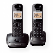 Panasonic Cordless KX-TG2512FXT Black, Caller ID, Wireless connection, Phonebook capacity 50 entries, Conference call, Built-in display, Speakerphone  44,00