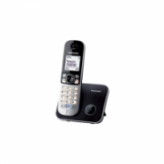 Panasonic Cordless KX-TG6811FXB Black, Caller ID, Wireless connection, Phonebook capacity 120 entries, Conference call, Built-in display, Speakerphone  37,00