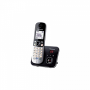 Panasonic Cordless KX-TG6821FXB Built-in display, Speakerphone, Conference call, Black/Silver, Caller ID, Wireless connection  39,90