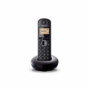 Panasonic Cordless KX-TGB210FXB Black, Built-in display, Caller ID, Phonebook capacity 50 entries  18,00