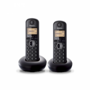 Panasonic Cordless KX-TGB212FXB Conference call, Built-in display, Black, Caller ID, Phonebook capacity 50 entries,  43,00