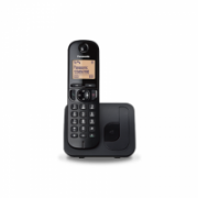 Panasonic Cordless KX-TGC210FXB Black, Built-in display, Speakerphone, Caller ID, Phonebook capacity 50 entries  31,00