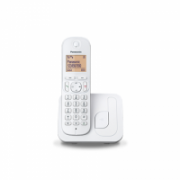 Panasonic Cordless KX-TGC210FXW White, Built-in display, Speakerphone, Caller ID, Phonebook capacity 50 entries  31,00
