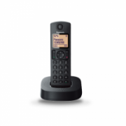 Panasonic Cordless KX-TGC310FXB Built-in display, Speakerphone, Black, Caller ID, Phonebook capacity 50 entries  30,00