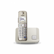 Panasonic Cordless KX-TGE210FXN Conference call, Built-in display, Champagne, Caller ID, Phonebook capacity 150 entries, Speakerphone  47,00