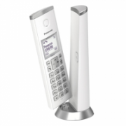 Panasonic Cordless KX-TGK210FXW White, Caller ID, Wireless connection, Conference call, Built-in display, Speakerphone  41,00