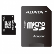 ADATA 16 GB, MicroSDHC, Flash memory class 4, SD adapter  7,00